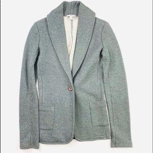 James perse grey coat
